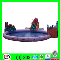fun inflatable amusement playground kids jumping bouncer combo spongebob