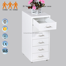 Cheap hot sale 6 Drawer Storage Cabinet with File Cabinet Wheel Base