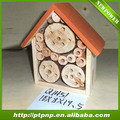 Natural wood insect house ladybird hotel bee house