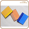 hot sale suede leather business credit card holder fashion personalized leather card holder cheap PU leather id card holder