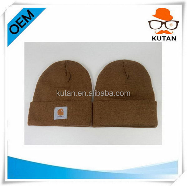 High quality low price custom infant cotton beanies