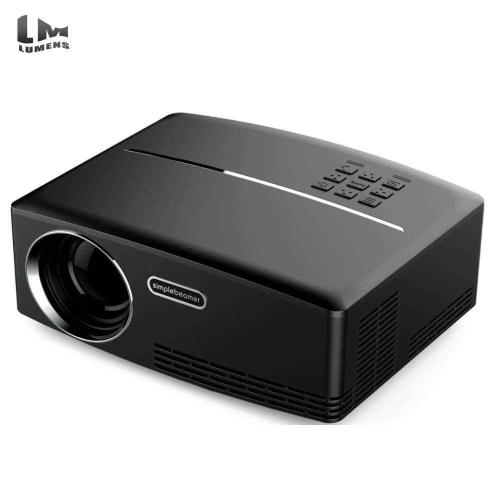 Factory Hotsale GP80 projector new led portable home theater projector,small projector