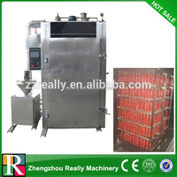 commercial chicken meat smoking machine/fish smokehouse/meat smoke oven for sale 0086-13014570102