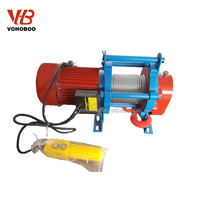 Chinese cable pulling machine electric winch