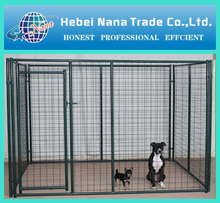 China supplier and high quality dog kennel wholesale / iron fence dog kennel