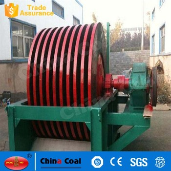 high quality waste paper recycling machine disc magnetic separator