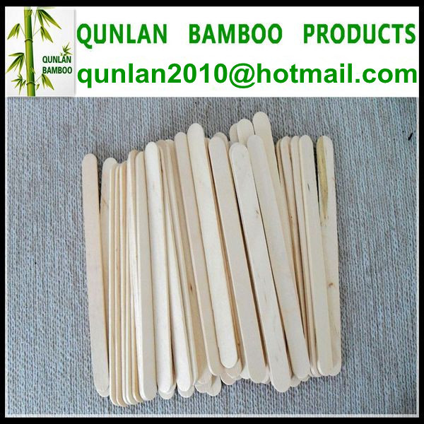 Natural Color Popsicle Sticks Ice Cream Sticks