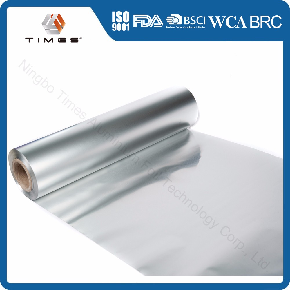 Disposable Household Food Grade Packaging Aluminium foil Roll with FDA