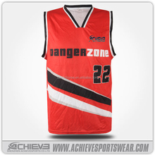 Fashion new design jerseys balls basketball uniforms basketball vest