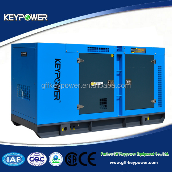 Keypower 125kva Chinese Diesel Electrical Generators Power By Reliable Engine Generator