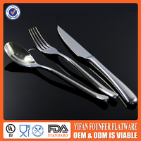 knife spoon and fork set stainless steel flatware set Exquisite technical