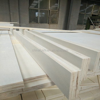 Indoor Usage LVL slat furniture parts curved bed slat