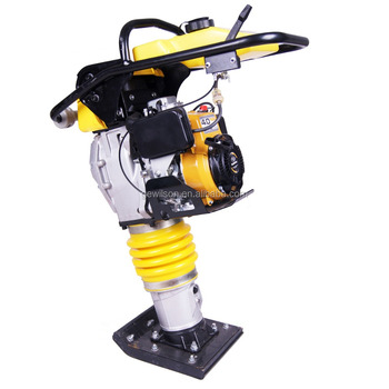 Road Tamper rammer machine vibratoion gasoline tamping rammer