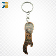 custom copper bottle opener key chain