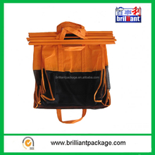 foldable trolley shopping bag one set of 4 bags