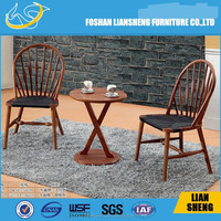 New model:A013 French country oval linen dining arm chair/french Louis wooden dining chair solid wood arm chairs