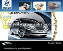 Keyless Go Entry System smartkey car central locking system for Hyundai Sonata 2012