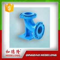 Cast Iron Pipe Fitting Ductile Iron Double Flange Bend/Elbow