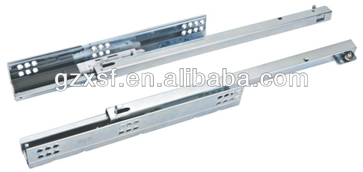push to open under mount drawer bearing slides for furniture D2603