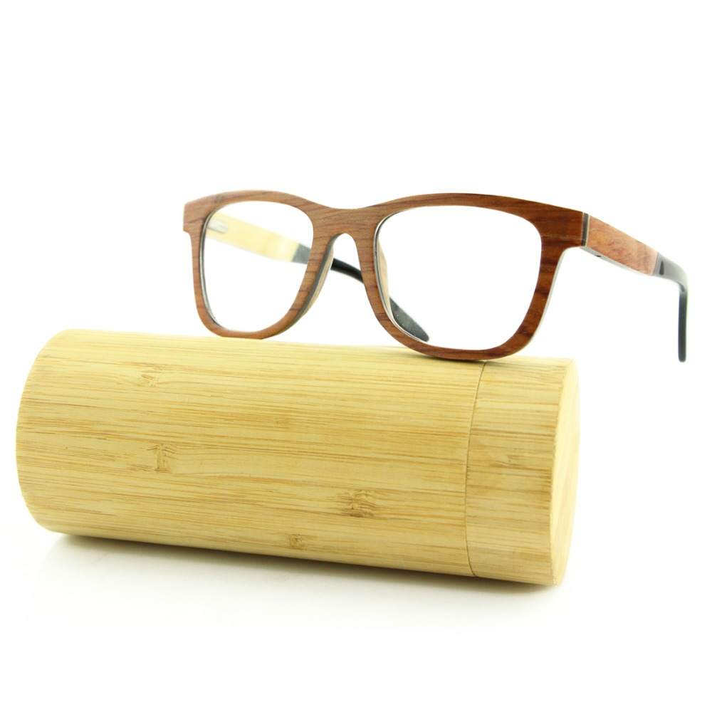 2016 Wooden Eyeglasses Without Nose Pads