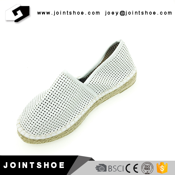 Breathable cheap women espadrille shoes for summer