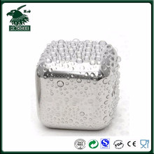 factory price Reusable Stainless Steel Ice Cube, Whiskey Stones, Different Shape available with FDA LFGB certificate