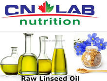 Bulk Supply Healthy and Organic Raw Linseed Oil/Flaxseed Oil for linseed Oil Softgel