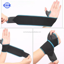 Fashion crossfit wrist support compression sport wraps elastic carpal tunnel wrist brace