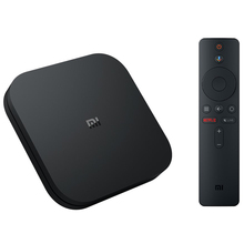 Global Version Smart Control Xiaomi Mi Box S Android Tv 8.1 4k Black Box Internet Tv <strong>Receiver</strong> Digital Cable Set Top Box