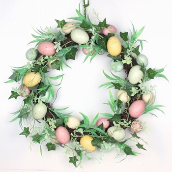 2017 Multi Easter Egg Floral Wreath For Your Choose