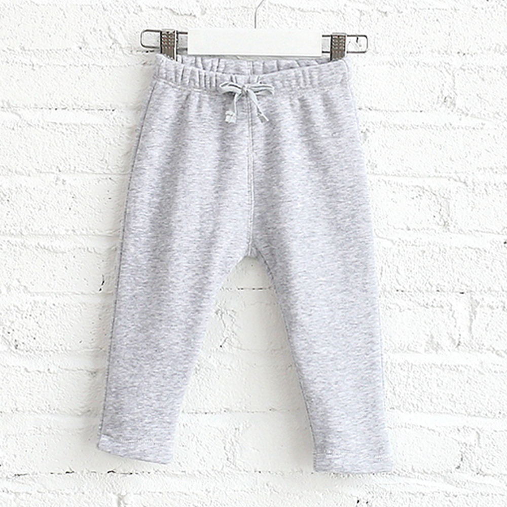 Fashion styles open crotch hot baby girls cotton thicken pants