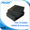 Transmits HDMI video and audio signals support 3D and IR HDMI over lan extender