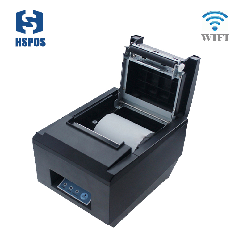 Quality wifi direct thermal printer 80mm pos ticket printing for business HS-825WC