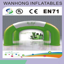 Outdoor advertising inflatable green tent , inflatable floating tent
