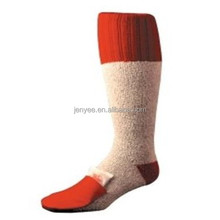 Custom cheap wholesale heated acrylic hunting sock manufacturer