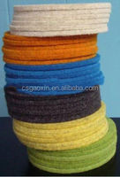 colorful thick nonwoven felt wholesale 100% wool