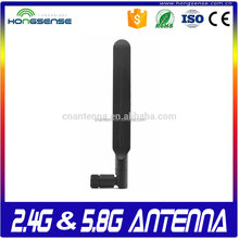 360 degree rotation 2.4 ghz and 5 ghz band antenna High quality pc 2.4g wifi pcb internal antenna with u.fl