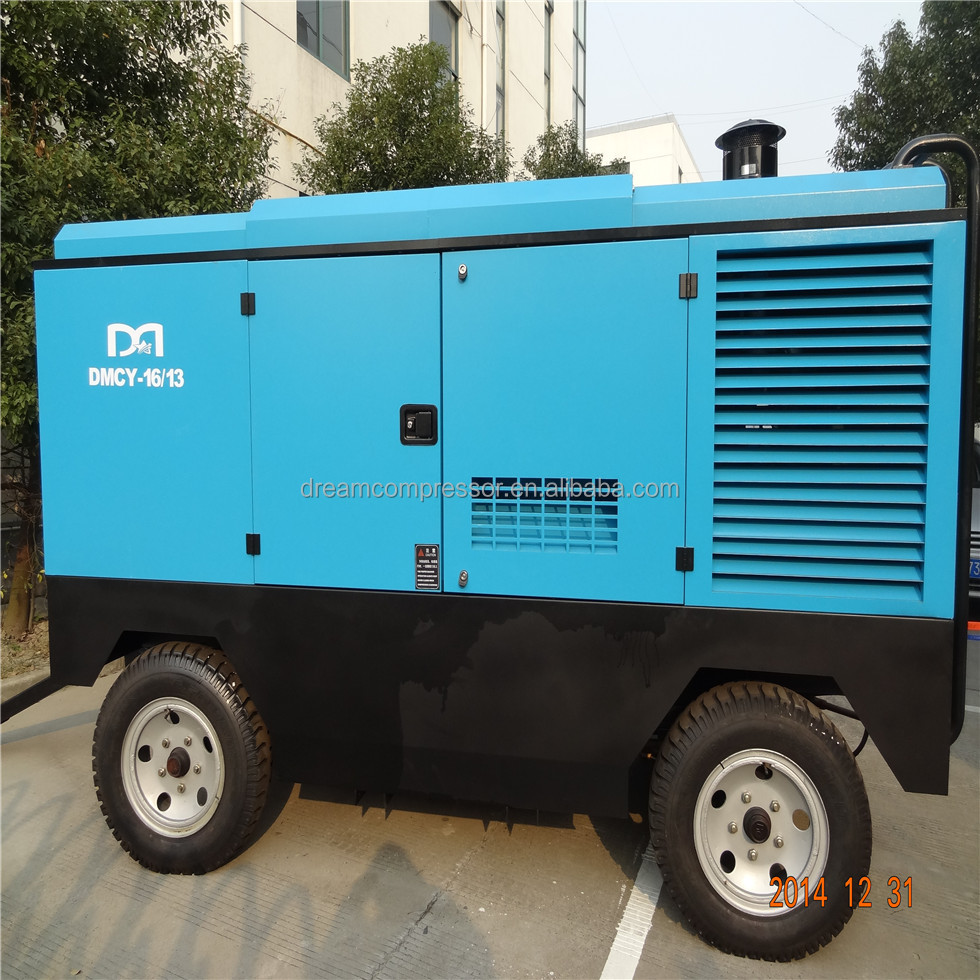 300bar pcp portable tire diesel air compressor for Mining