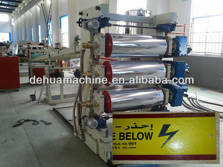LDPE HDPE PE cable tile extrusion machines