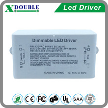 Factory Price 360mA constant current dimmable led driver