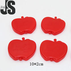 Cute apple shape plastic material gel ice pack cooling
