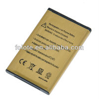 Top selling OEM 2450mAh gold business battery BL-4C For Nokia BL 4C C2-05 2220 6100 6300