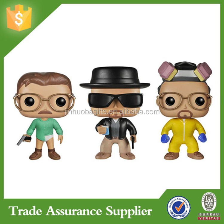Custom Personalized Design Kids Dolls Resin Breaking Bad Bobble Head