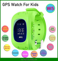 W5 GPS Tracker Watch For Kids children smart watch SOS Emergency Anti Lost GSM Phone