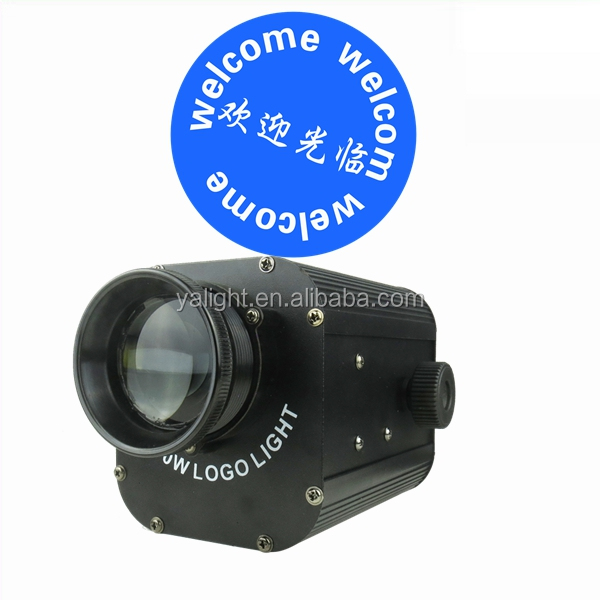 guangzhou led gobo projector 30w led outdoor stage logo light