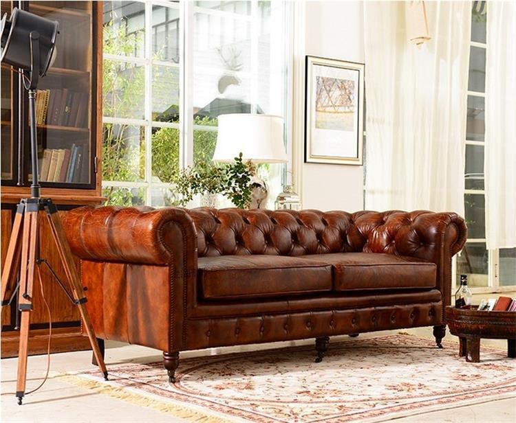 Alibaba Verified Golden Supplier Victorian Style 2016 Modern New Product Leather Sofa Set