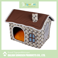 China high quality new arrival latest design pet product heated cat house