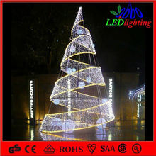 Christmas trees personalized crystal ball light for wholesale
