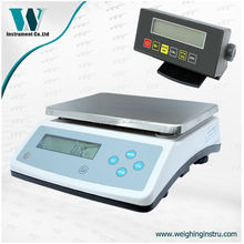 0.1g top loading weighing scales 10 kg