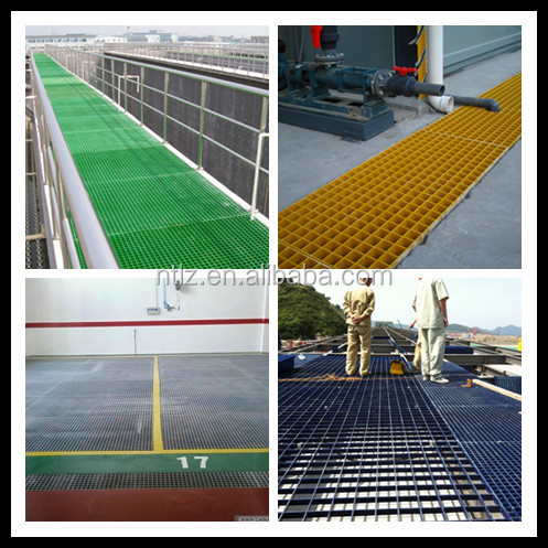 frp vessel and frp grating